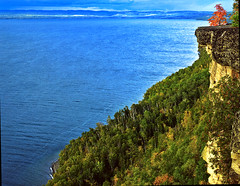 View of Lake Superior Lakeshore, from Restoule Provicinial Park, Ontario, Canada (klauslang99) Tags: klauslang lake superior landscapes nature naturalworld northamerica canada ontario