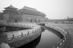 The Forbidden City - Beijing (virtualwayfarer) Tags: beijing china capital unesco unescoworldheritage worldheritage worldheritagesite asia asian street streetphotography imperial empire imperialpalace palace mingdynasty qingdynasty 紫禁城 chinese architecture chinesearchitecture canal canals palacegrounds meridiangate gate wall fortress fortresswall travel tourism alexberger travelphotography longexposure bridge bridges reflection reflections canon canon6d spring march blackandwhite blackandwhitephotography