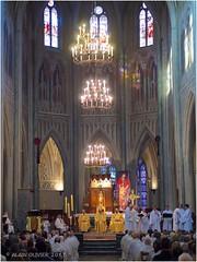 Messe chrismale en la cathédrale de Chambéry