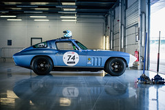 Andy Dee Crowne and Sam Thomas - 1964 Chevrolet Corvette at the 2017 Silverstone Classic Media Day (Photo 1) (Dave Adams Automotive Images) Tags: automotive car cars daai daveadams daveadamsautomotiveimages motorsport motorsportphotography racing silverstone silverstoneclassic vintage wwwdaaicouk andydeecrowne samthomas 1964chevroletcorvette 1964 chevrolet corvette