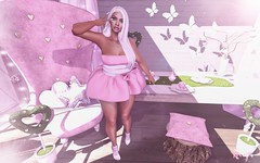 PINK! (RoxxyPink) Tags: roxxypink pink roxxy fashionuschies fashion uschies fashionblog blog fashionblogger blogger blogging blogspot secondlifeblog secondlifeblogger secondlife second life 2ndlife avatar ava avi candydoll c88 collabor collabor88 style styling bossie gacha rare the season story theseasonstory chapter four event fair thechapterfour bubble mesh meshclothes meshclothing clothes clothing meshhead head bento bentohead bentoshape pose poses poser posing white meshhair catwa catwahead catya make up guardians {mossmink}
