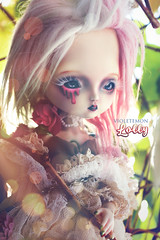 Magic and Lolly (Violetemon) Tags: bjd leekeworld mini