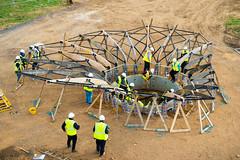 090:365 - Elegant... (ASBO Allstar) Tags: building civilengineering construction constructionarium creating making norfolk project365 students universityofsalford