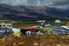 On back: Mount Lebanon (davidvankeulen) Tags: republieklibanon républiquelibanaise middleeast middenoosten afrikaeurazië lebanon libanon liban westbeqaa westbeka beka beqaa biqâ becaa westbekaavalley bekaavallei refugeecamp temporarysettlement its informaltentedsettlement tent vluchtelingenkamp syrian syrians joubjannine qaraounlake davidvankeulen davidvankeulennl davidcvankeulen urbandc europe unhcr worldvision