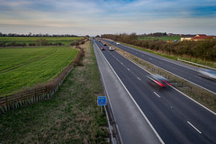 A1 Motorway (CallumParry1) Tags: a1 motorway county durham highway freeway landscape photography road a1m england north nikon d3100 sunset photoshop