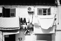 laundry day (gato-gato-gato) Tags: 35mm contax contaxt2 iso400 it ilford italy ls600 noritsu noritsuls600 palermo strasse street streetphotographer streetphotography streettogs t2 analog analogphotography believeinfilm film filmisnotdead filmphotography flickr gatogatogato gatogatogatoch homedeveloped pointandshoot streetphoto streetpic tobiasgaulkech wwwgatogatogatoch sicilia italien black white schwarz weiss bw blanco negro monochrom monochrome blanc noir strase onthestreets mensch person human pedestrian fussgänger fusgänger passant schweiz switzerland suisse svizzera sviss zwitserland isviçre autofocus italia sicily europe travel adventure travelling eu