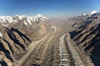 Inylchek glacier
