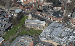 St Stephens Church in Norwich - uk aerial (John D F) Tags: church norwich aerial norfolk city uk aerialphotography aerialimage aerialphotograph aerialimagesuk aerialview britainfromtheair britainfromabove highdefinition hidef highresolution hirez hires viewfromplane droneview