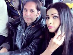 Rohid Ali Khan and Zara Malik on the way (Rohid Ali Khan) Tags: rohid ali khan maproductions mapro zara malik adhoorey khuwaab shahid sheikh khalid butt romantic song pehli muhabbat khanpur dam pakistani actor bollywood insight movie