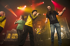 Amsterdam, The Netherlands  -16 April 2017: concert of Bosnian rock music band Dubioza Kolektiv at venue Melkweg -15 (CloudMineAmsterdam) Tags: dubiozakolektivmelkwegamsterdam amsterdam artists band concert concertlights crowd editorial electricguitar entertainment europe event gathering rock dub leisure lights loud music musician netherlands holland party people performance show singer vocals cheering audience happysmile fun hiphopreggae stage