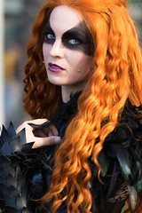 Echos Cosplay (KarenBorterPhotography) Tags: cosplay wondercon2017 wondercon2017saturday canonphotography 100mmf28 girlcosplay girlphotographer bokehgoodness