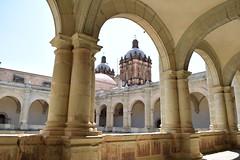 Central courtyard of the Templo de Santo Domingo (nickdippie) Tags: mexico oaxaca centralamerica templodesantodomingo exconvento iglesia escher