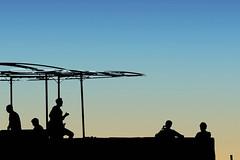 Ibiza - Siluetas - Silhouttes (COLINA PACO) Tags: ibiza isla islasbaleares islas island isole isola île siluetas silhouettes tramonto ocaso sunset