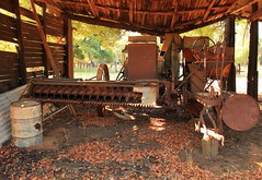 Rusty Reaper (Darren Schiller) Tags: australia abandoned derelict disused decaying dilapidated farming grenfell history heritage infrastructure implement harvester sunshine weddinmountainsnationalpark newsouthwales rural rustic rusty