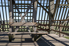 Beams and shadows (BasLoo) Tags: beams beam wood wooden shadow shadows bench rail railing fence roof lines cross crossbeams crossbeam pole poles sintmaartensbrug sintmaartensvlotbrug grote sloot brug canon canon6d 50mm ef ef50mm 114 14 f14 digital photography full frame light construct construction structure