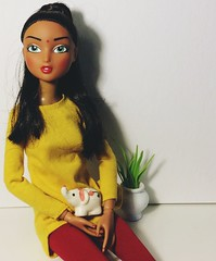 Toner City Girls Doll (The Dollhouse of Usher) Tags: bindi indian toys modification aadoll houston india doll girls city tonner