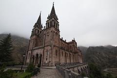 Santuario de Covadonga (Juan R. Ruiz) Tags: santuariodecovadonga covadonga santuario asturias picosdeeuropa mountains towns buildings edificios pueblos españa spain europe europa canoneos60d canon canoneos eos60d town
