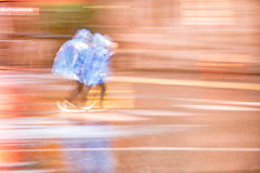 Rainy Run (from our view) Tags: rain blur color abstract coat plastic movement nikon tennessee d810 2017 spring reflection light le