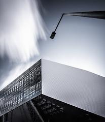 Phase Lock (Robert_Franz) Tags: architecture architectural urban city longexposure design building sky clowds colors stuttgart reflection abstract modern futuristic fineart blue