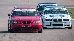 Red vs White (neil.bulman) Tags: championship rockingham olympus motorracing wheels barc petrol race competition 13 car 62 cars bmw motorsport olympusuk sport racing corby england unitedkingdom gb
