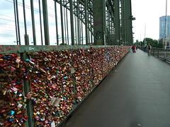 The _love-locks_ on the Hohenzollern Bridge, Koln (Kevin J. Norman) Tags: germany koln cologne hohenzollernbridge