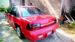 My car - without the snow!! (Maenette1) Tags: car pontiacgranprix 1994 red menominee uppermichigan flickr365 amazonfirehd