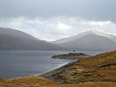8626 Loch Quoich reservoir (Andy - Busyyyyyyyyy) Tags: 20170319 ccc clouds ggg glen glenquoich lake lll loch lochcuiach lochquoich misty mmm mountains murky qqq reservoir rrr scotland water www
