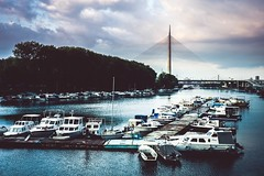 Marine (goran_protic) Tags: belgrade ada sava river marine boat ship fuji xt1 t1