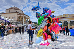 Flying Shark (Dimitris_D) Tags: balloons athensmonastirakiplace