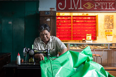 man at work (Sitoo) Tags: cakra cakranegara indonesia lombok mataram pasarcakra southeastasia asia asian indonesian island job locals man market offthebeatenpath onduty people sewing sewingmachine streetphotography traditionalmarket travel worker working