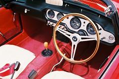 Time Warp (benriley80) Tags: honda classic s600 jnc jdm japanese sports red 1960s nostalgic retro vintage film nikonf3 cabrio convertible legend 9000rpm