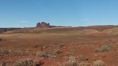 Headed to Monument Valley on Rt163 in Utah (dylangaughan43) Tags: utah valleyofthegods lg lgg5 cameraphone unfiltered desert rockformation