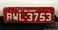 BWL-3753 (XBXG) Tags: license plate kenteken plaque immatriculation immat brazil brésil brazilië brasil