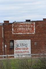 Buffalo Ghost Sign (jmaxtours) Tags: ghostsign buffaloghostsign sign buffalo buffalonewyork unitedjewelers unitedjewelersbuffalosoldestpawnshop kingofdiamonds buffalos oldest pawn shop buffalosoldestpawnshop