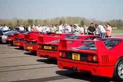Squad Goals (MJParker1804) Tags: ferrari f40 f50 enzo twin turbo v8 v12 rosso corsa red hypercar supercar classic