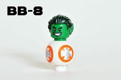 BB-8 (Oky - Space Ranger) Tags: lego star wars force awakens bb8 dc comics super heroes teen titans beast boy
