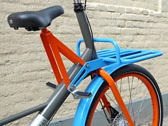 WorkCycles Fr8 Uni 7022-2004-5015 3 (@WorkCycles) Tags: blue orange dutch amsterdam bike bicycle brooklyn grey kid child transport special custom carrier racks fiets workbike fr8 stadsfiets transportfiets moederfiets workcycles papafiets