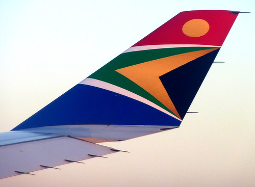 South African Airways  ZS-SXE - A340-300 Winglet