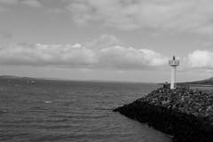 Irish Sea (glimmering.eu) Tags: ireland sea dublin irish blackorwhite bailethacliath
