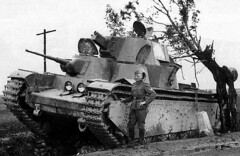 Abandoned T-35 - Soviet multi-turret heavy tank