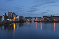 Leith Shore Twilight (Colin Myers Photography) Tags: blue colin reflections photography scotland cool twilight edinburgh scottish calm shore hour leith serene bluehour myers leithshore twilightphotography edinburghphotography colinmyersphotography twilightedinburgh leithtwilight