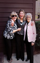 MOTHERS DAY SHENANIGANS (marsha*morningstar) Tags: family girls smile female funny feminine daughter mother laugh trio mothersday2014