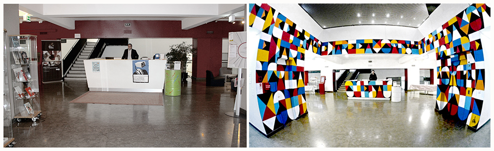 Before/After REMED at the FRENCH INSTITUE OF LISBOA. Portugal