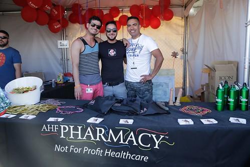 AHF Pharmacy at Long Beach Pride 2014