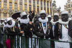 Zwarte Pieten Brussel (De Wilde photography) Tags: bezoek brussel gewest officieel kroning blijdeintrede
