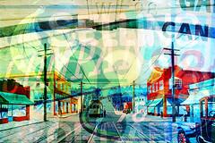 98 (JTContinental) Tags: seattle urban photoshop typography 98 numbers multiexposure 2014 20cd jtcontinental