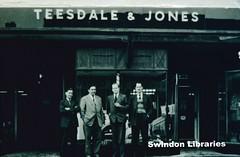 1930s?: Teesdale & Jones, 28 Fleet Street in Swindon (Local Studies, Swindon Central Library) Tags: men shop jones 1930s suits swindon slide business 28 wiltshire fleetstreet teesdale unlocated teesdaleandjones teesdalejones