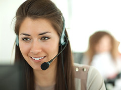 Female customer support operator with headset and smiling (safaa00165257) Tags: portrait people girl smile female person corporate office support call phone adult telephone centre young center headset business help latin friendly headphones microphone customer consultant service agent hispanic secretary belarus helpdesk client operator communications assistant telecom communicate receptionist representative telemarketing latinamerican handfree consultationwoman