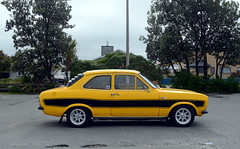 1972 Ford Escort (stephen trinder) Tags: newzealand christchurch orange classic ford landscape nz custom kiwi 1972 fordescort christchurchnewzealand thecarsofchristchurch