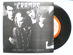 """CRAMPS """"MAD DADDY"""" 7"""" (FRONT SLEEVE) (psychocandy65) Tags: music rock punk vinyl 45 single record cbgb poisonivy cramps luxinterior"""
